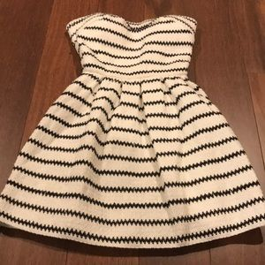 Wow Couture strapless  juniors dress